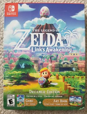 BRAND NEW Link's Awakening Legend of Zelda Art Book Edition nintendo Switch for Sale in Denver, CO