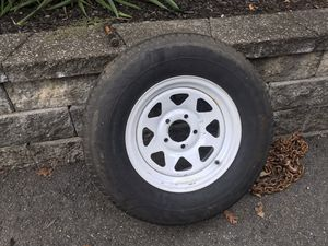 Trailer tire. Like new. ST 205-75R 14. for Sale in Hardyston Township, NJ