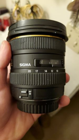 Sigma 10-20mm lense (not cheap, but negotiable!) for Sale in Fairfield, CA