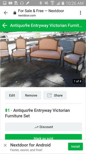 Vintage entryway furniture for Sale in Richmond, CA