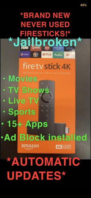 Unlocked firesticks 🔥🔓 for Sale in Plainfield, IL