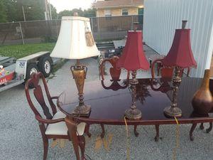 Antique lamps $20 a piece vases $5 apiece for Sale in St. Louis, MO