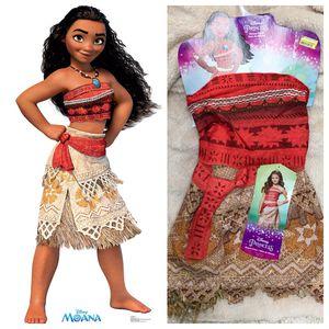 Disney Princess Moana Halloween Costume, Size 4-6 for Sale in Anaheim, CA