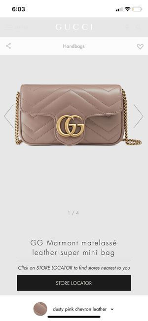 Only use Once! Gucci leather Mini bag. for Sale in Bellevue, WA
