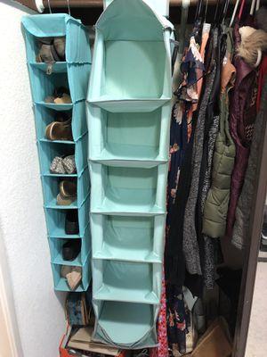 Hanging closet organizer for Sale in San Jose, CA
