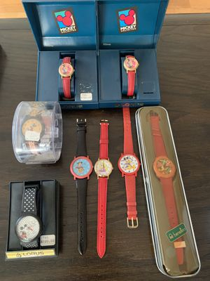 90s Collector's Disney Watches + Benetton for Sale in Los Angeles, CA