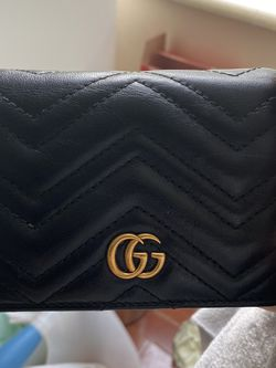 Gucci mormont leather wallet for Sale in Seattle,  WA