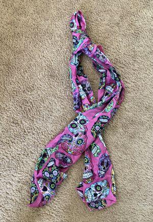 Sugar Skull Pink Scarf for Sale in Harrisburg, PA