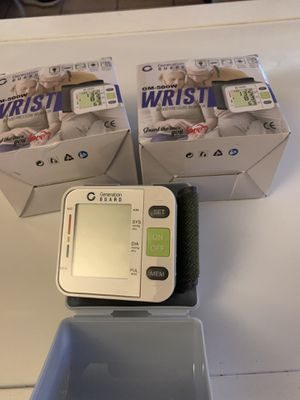Blood pressure monitor wrist style for Sale in Lynwood, CA