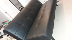 Leather futon great condition for Sale in Smyrna, TN