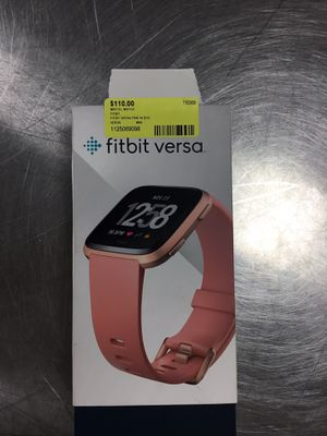Fitbit verse pink in box for Sale in Okeechobee, FL