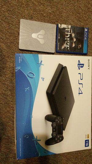 Sony PlayStation PS4 slim 1 tb for Sale in Sacramento, CA