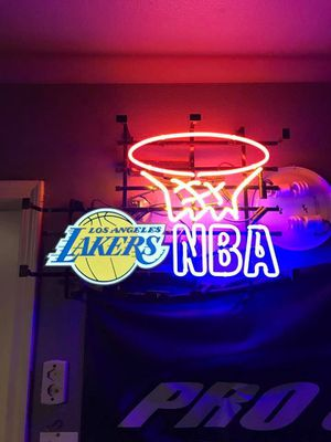 Brand New in sealed box. Lakers Neon Sign Real Neon Light for Sale in Norwalk, CA