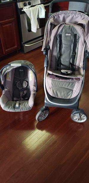 Chicco bravo trio travel system for Sale in Union City, NJ