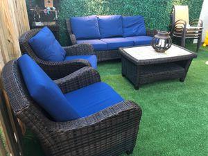 Sofa for outdoor sofa set patio furniture for Sale in Miami, FL