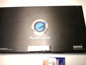 Planet audio 5000W class D mono block for Sale in Tempe, AZ