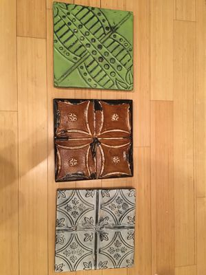 Decorative metal tiles for Sale in Washington, DC