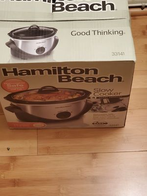 Hamilton beach slow cooker for Sale in Downey, CA
