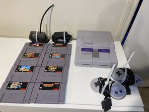 Original Super Nintendo Lot and Games (Mario, Donkey Kong, and more!) SNES for Sale in Brooklyn, NY