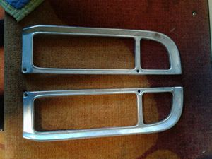C10 chevy truck taillight bezels 67 to 72 for Sale in Tampa, FL