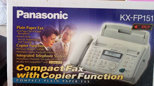 New Fax and Copier Machine
