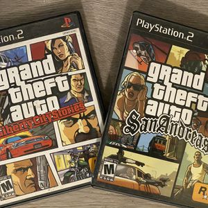 PS2 Grand Theft Auto Bundle for Sale in El Cajon, CA