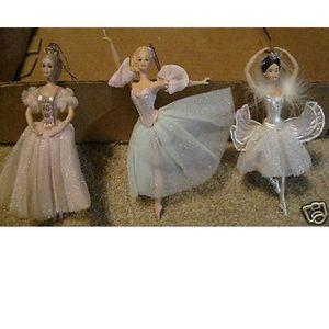 Nutcracker ballerina barbie ornaments for Sale in Marshalltown, IA