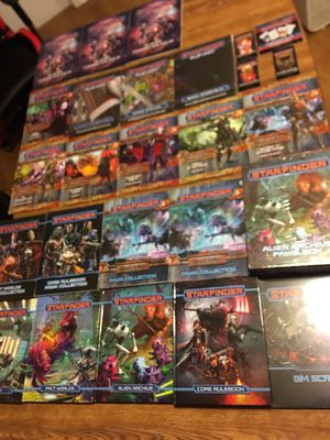 Starfinder Paizo RPG Lot for Sale in Federal Way, WA