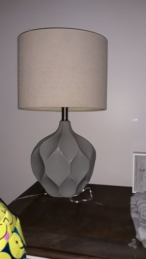 Blueish grey lamp for Sale in Haverhill, MA