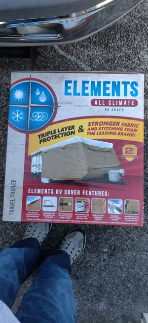 Travel trailer cover 22-24ft for Sale in Tacoma, WA