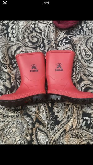 Kamik toddler rain boots for Sale in Manassas, VA