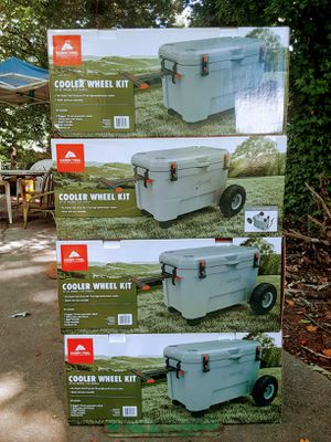New Ozark Trail cooler wheel kit fit Ozark Trail 52-qt and 73 qt high performance coolers only $20 wow for Sale in Lilburn, GA