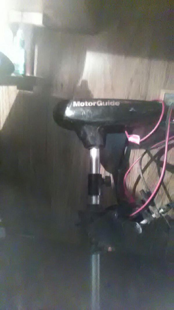 Motorguide trolling motor 30lb thrust 6spd,frd rev, works great