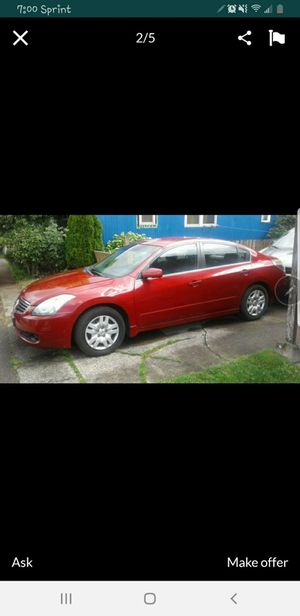 """""""09"""" Nissan ALTIMA for Sale in Tigard, OR"""