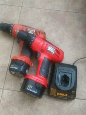 Black&Decker Drills 2 with Battries and charger for Sale in Pompano Beach, FL