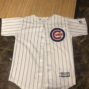 MLB Cubs Majestic Javier Baez #9 Sz Youth Small 8 Jersey for Sale in West Dundee, IL