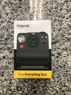 * Polaroid Now I-Type Instant Film Camera Bundle with i-Type Color Film and Cloth #17549-3 for Sale in Revere, MA