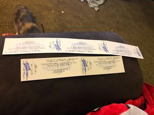 Magic mountain amusement park tickets for Sale in Urbana, OH