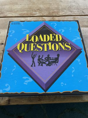 Loaded Questions board game for Sale in Ellicott City, MD