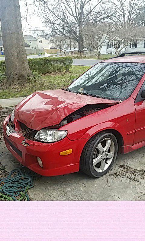 2003 Mazda Protege salvage title