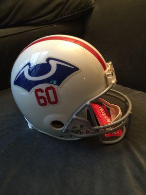 Full size authentic Boston Patriots 1960 Riddell helmet for Sale in Fairfax, VA