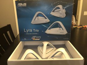 Asus Lyra Trio mesh router Wi-fi system for Sale in Queen Creek, AZ
