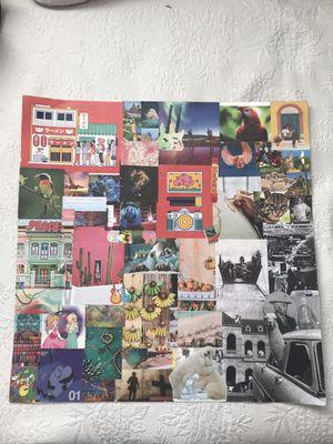 Nostalgic dreams, collage poster for Sale in Dallas, TX