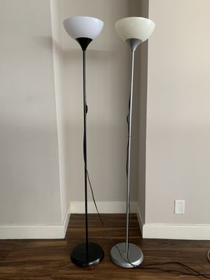 Set of floor lamps with light bulbs included for Sale in Philadelphia, PA