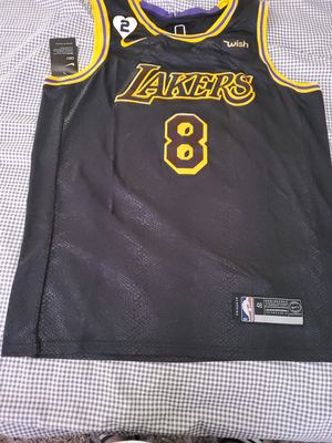 Kobe Bryant Lakers Mamba Day Jersey for Sale in Lancaster, CA