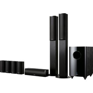 Onkyo TX-NR616 Receiver + Onkyo SKF-770 Home Theater Speaker System for Sale in New York, NY