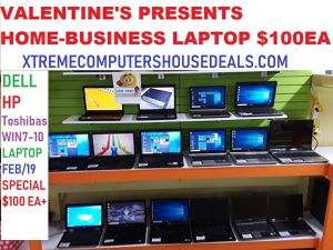 😍😍VALENTINE'S PRESENT LAPTOP SPECIAL FEB/14/19 for Sale in Fort Worth, TX