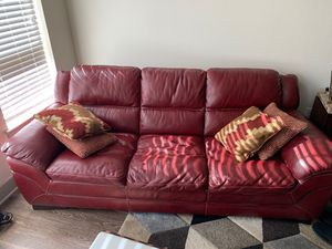 5 piece living room set. Very cozy with a rich color. Well maintained, originally paid 2,300. for Sale in Littleton, CO