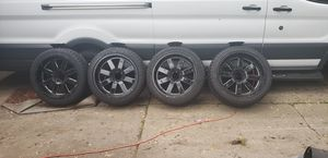 """22"""" moto metal rims and 22"""" trail blaze off road low profile tires for Sale in Lathrup Village, MI"""
