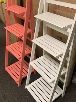 Ladder Shelf | Leaning Bookshelf Plant Shelf for Sale in South El Monte,  CA